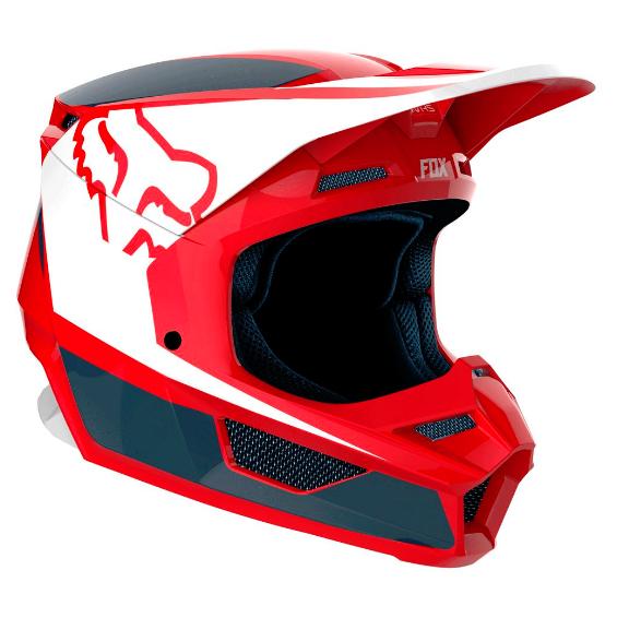 Casco FOX V1 PRZM Rojo/Marino