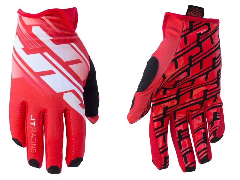 Guantes JT Racing Pro-Fit Tracker Rojo