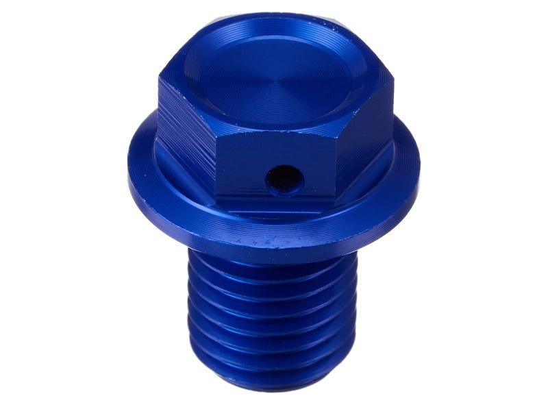 Tornillo Magnético de Vaciado ZETA Azul