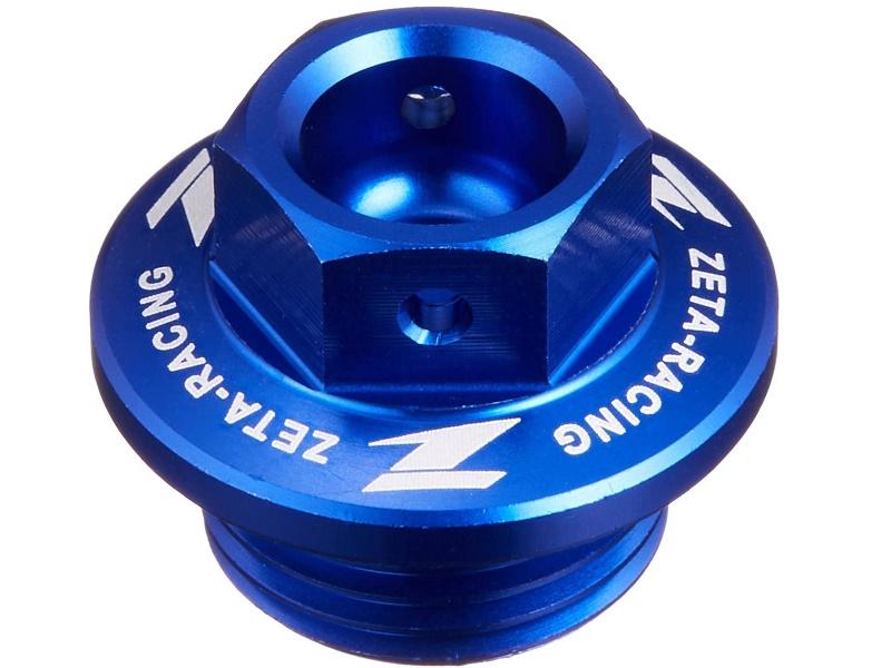 Tapón Llenado Aceite ZETA Azul