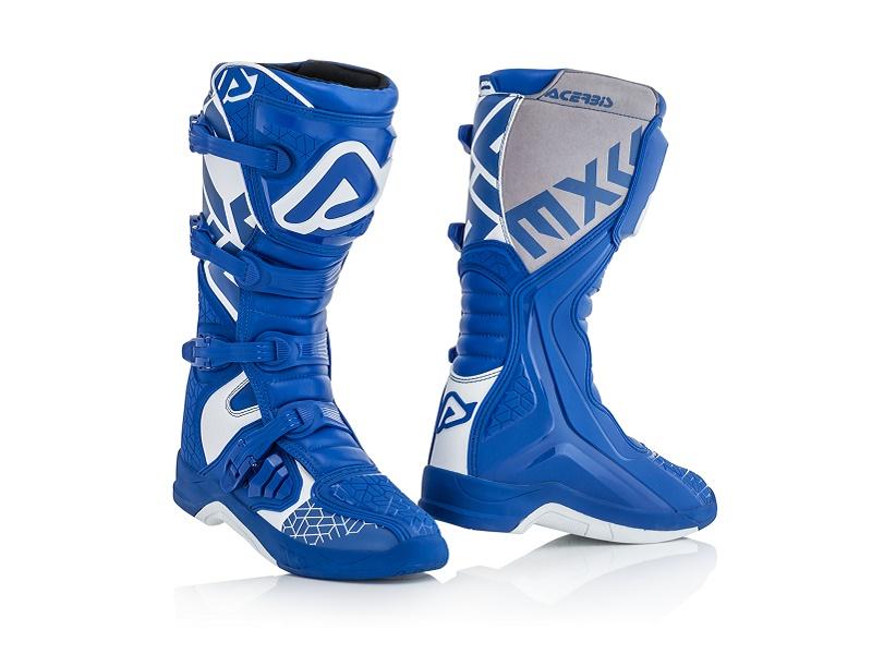 BOTAS ACERBIS X-TEAM Azul/Blanco