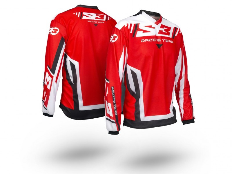 Jersey S3 Racing Team Pilot Trial Rojo