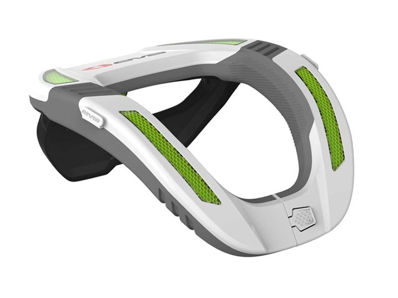 COLLARIN EVS R4K KOROYD Blanco/Verde