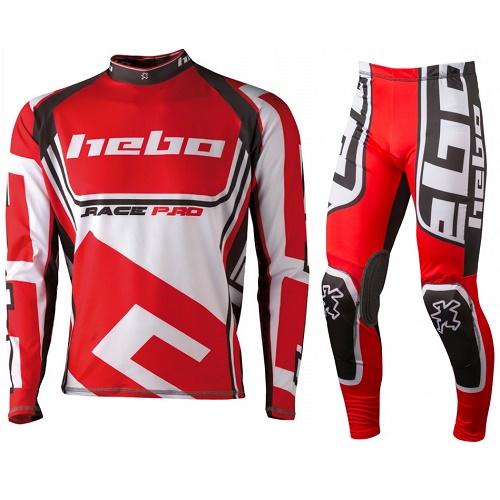 HEBO RACE PRO II TRIAL Rojo