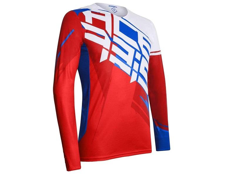 Jersey Acerbis Shun MX Rojo/Azul/Blanco