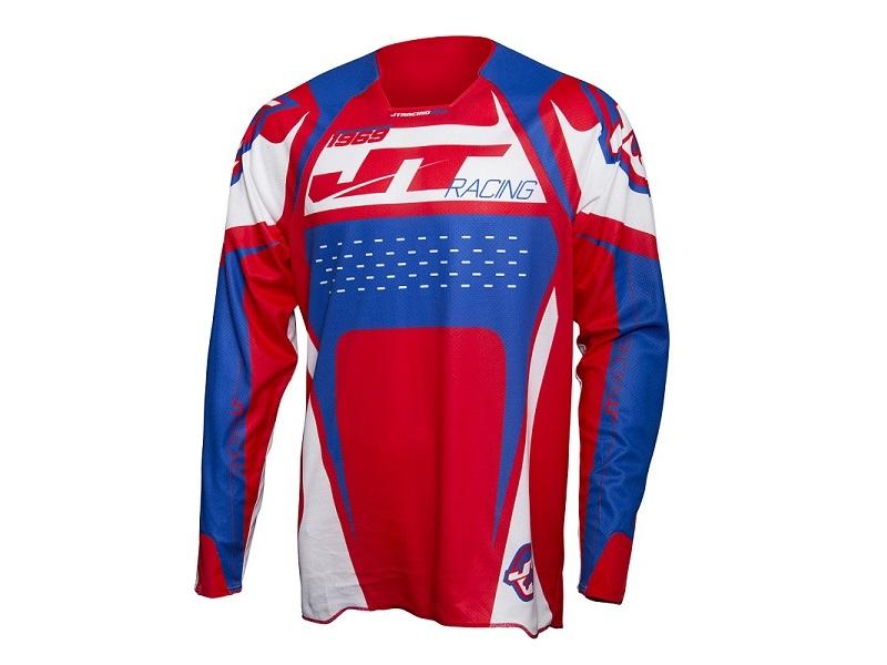 Jersey JT Racing Protek Rojo/Azul/Blanco