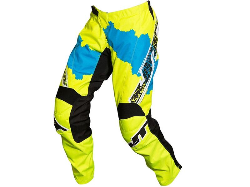 Pantalón JT Racing C4 Ripper Fluor/Azul