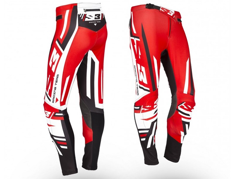 Pantalon S3 Trial Racing Team-R2 Rojo