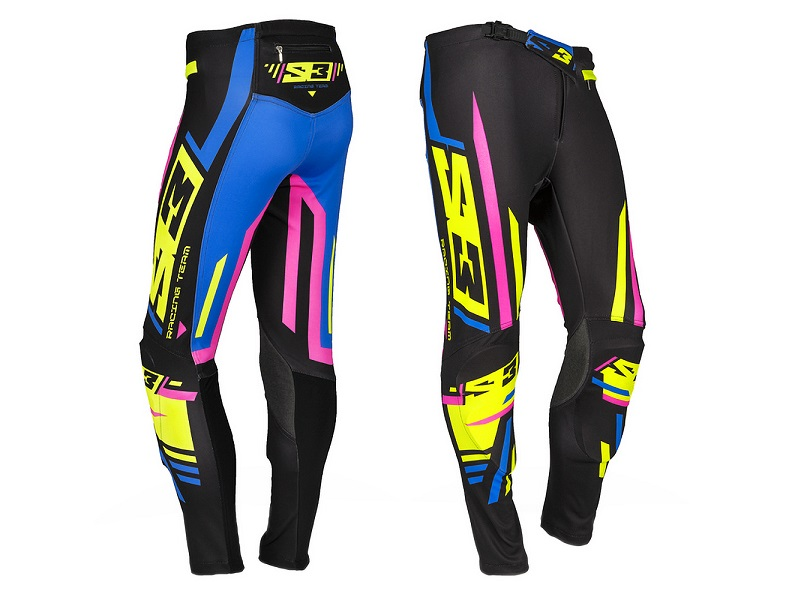 Pantalon S3 RT-C2 Negro/Azul/Rosa