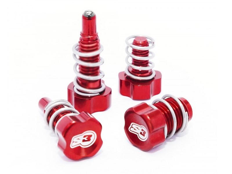 Regulador Maneta y Bomba S3 AJP Braktec Rojo