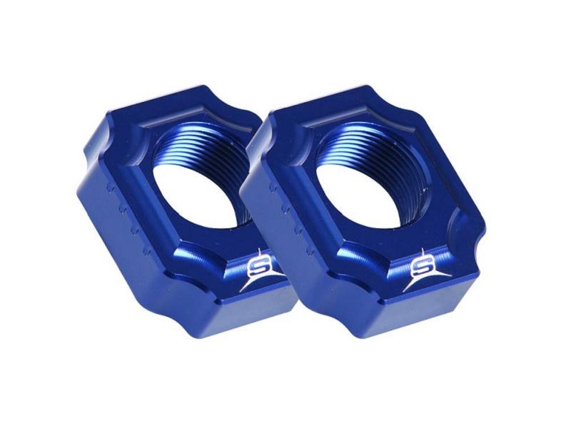 Juego Tensores Rueda Aluminio SHERCO Factory Azul
